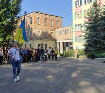 День знань присвячений 30-й річниці незалежності України