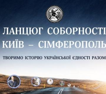 Всеукраїнський віртуальний ЛАНЦЮГ СОБОРНОСТІ